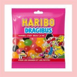 confiserie anniversaire Haribo dragibus