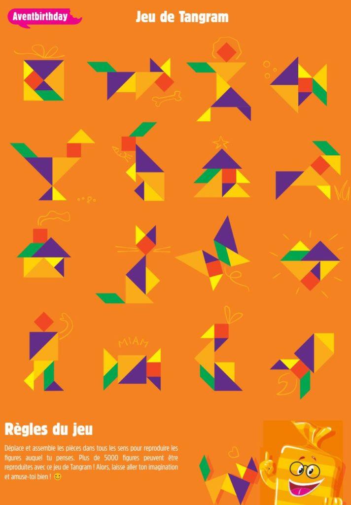 jouet créatif tangram