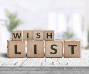Comment faire une Wishlist d'anniversaire ?