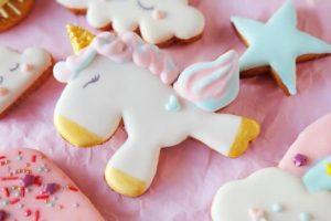 petits gâteaux licornes