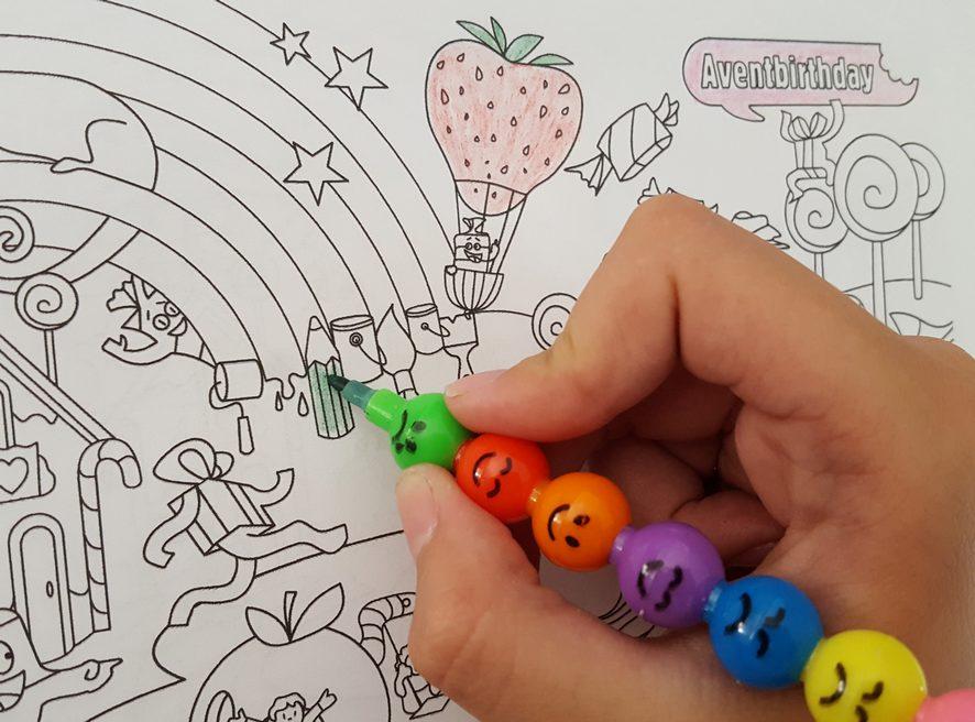 coloriage enfant 6 ans