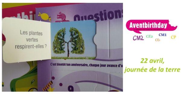 jeu enfant anniversaire de sensibilisation au développement durable