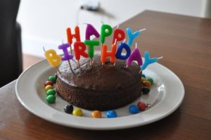 gôuter anniversaire gâteau chocolat