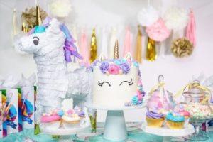 fete anniversaire fille theme licorne