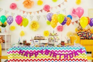 preparer la fete anniversaire maison