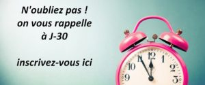 inscription calendrier de l'avent anniversaire