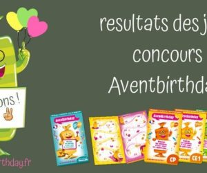jeu concours Aventbirthday